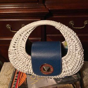 Basket Weave Stylish Handbag